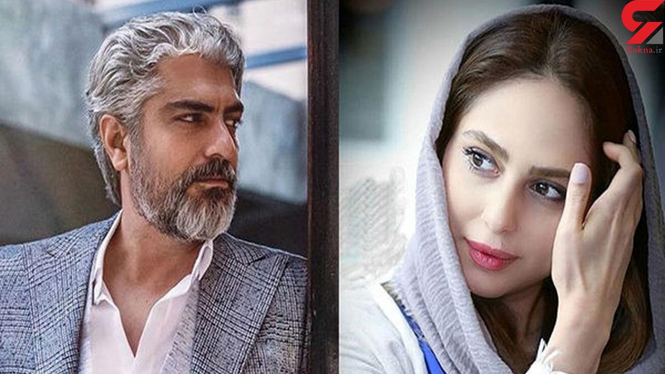 عکس عاشقانه مهدی پاکدل و رعنا آزادیور در مکان عمومی !
