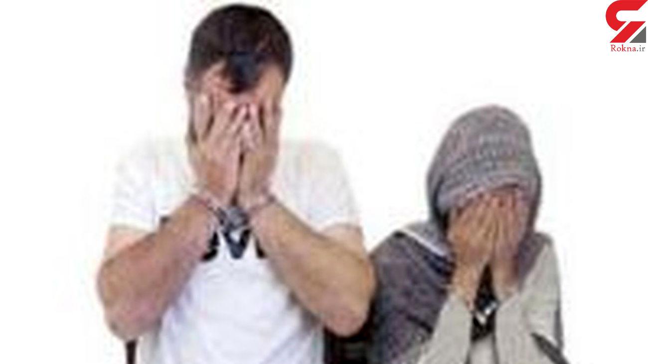 جولان زن و شوهر ماکسیما سوار در غرب تهران / پلیس فاش کرد