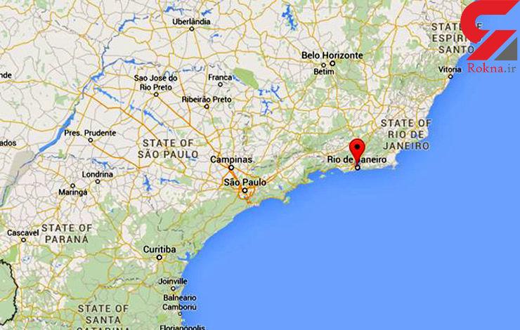 5 کشته و 13 زخمی در انفجار گاز در ریودوژانیرو