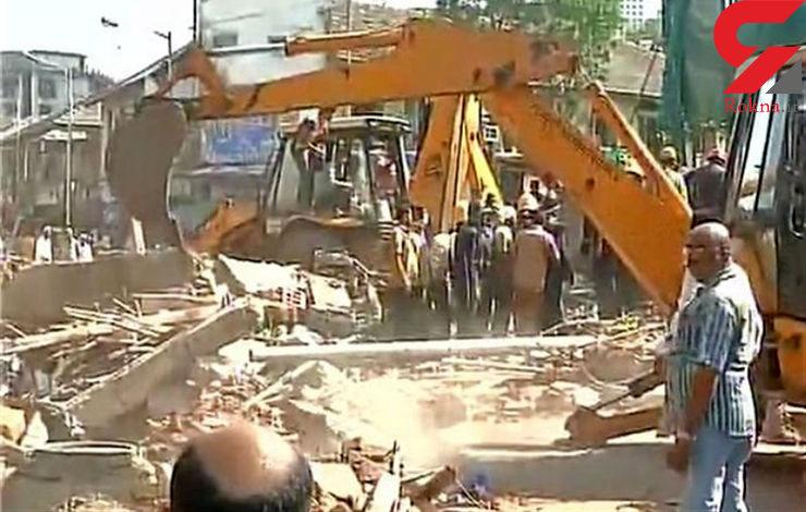 ۵ کشته و ۱۰ زخمی در فروریختن یک ساختمان در هند