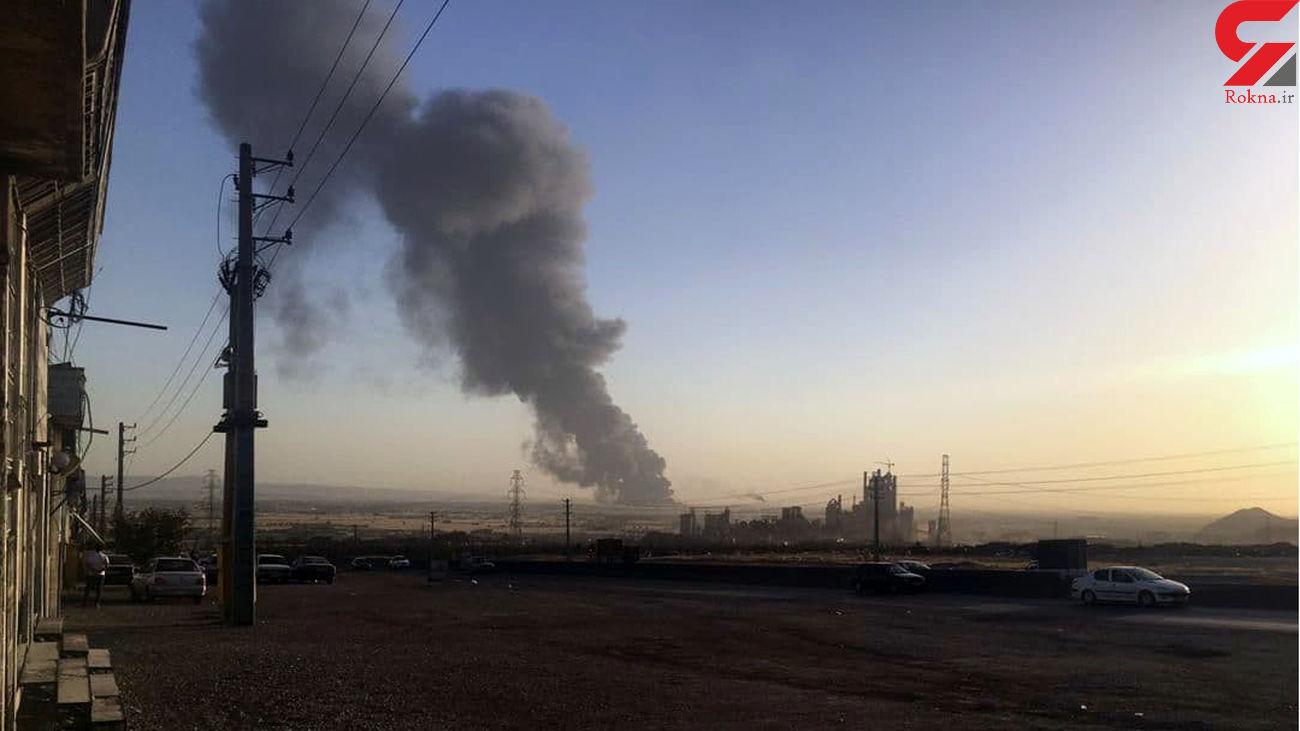 آتش سوزی هولناک در انبار نفت پالایشگاه تهران! + عکس
