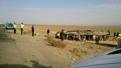 آخرین خبر از  اتوبوس مرگ در نطنز + فیلم