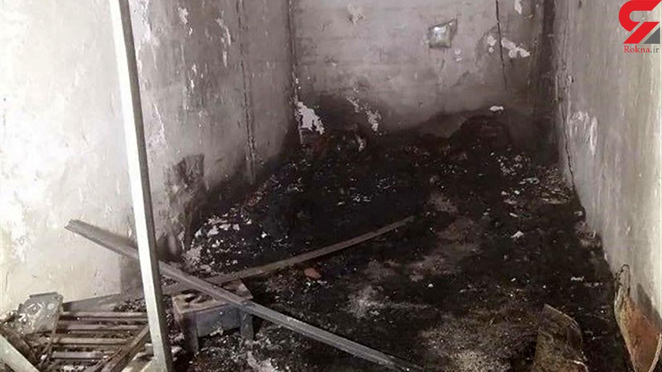 زنده زنده سوختن  جوان 27 ساله در میان شعله های آتش / در غرب تهران رخ داد + عکس