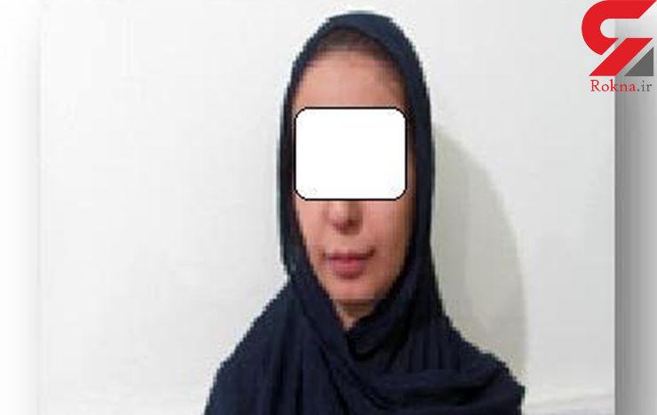 مزاحمت بی شرمانه دختر 23 ساله برای هتک حیثیت یک دختر+عکس متهم