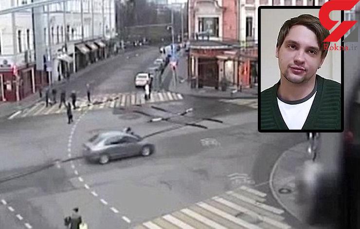 دوئل با مرگ برای دستگیری راننده متخلف