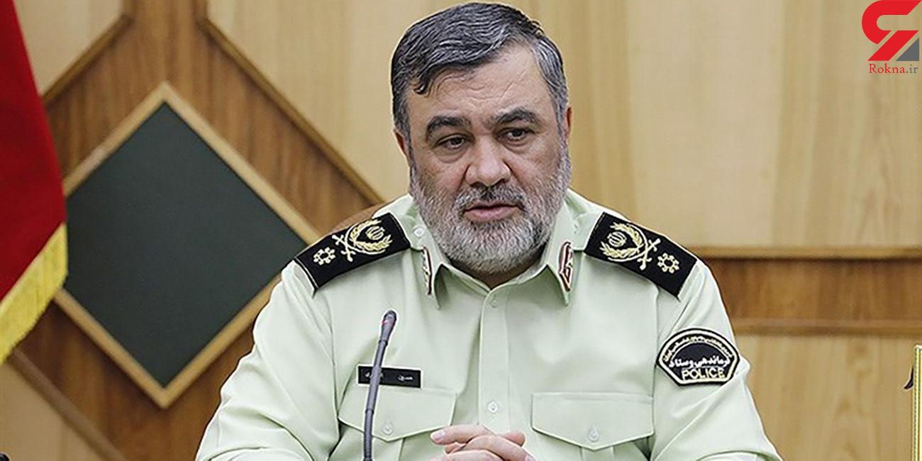 سردار اشتری فرمانده انتظامی ایران توسط امریکا تحریم شد