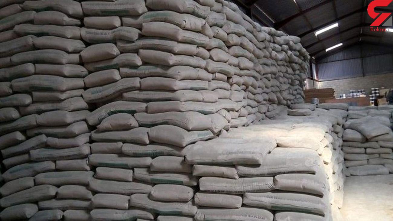 گم شدن200 هزار دلار سیمان صادراتی در کارخانه سیمان خوزستان