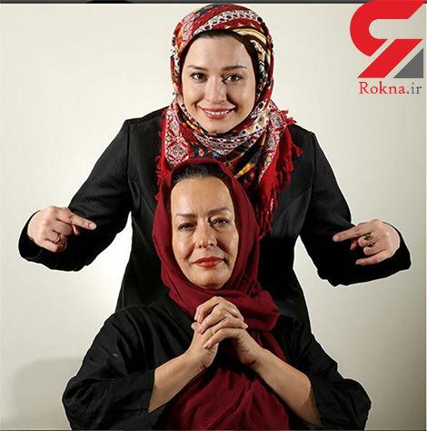مهراوه شریفی نیا تولدش مادرش را تبریک گفت
