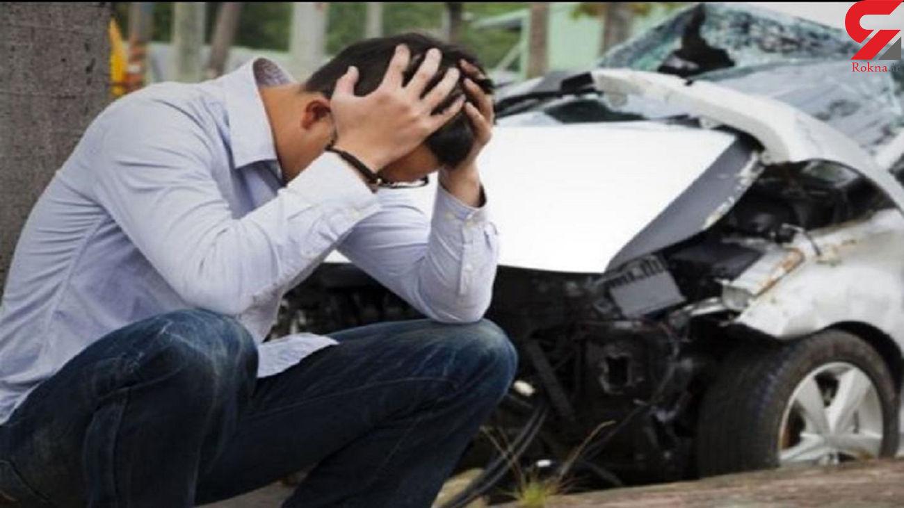 مصدومیت 7 نفر در یک حادثه تصادف در فیروزکوه
