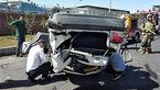 19 عکس از بدترین تصادف نوروزی تهران / پراید حادثه آفرید + جزییات