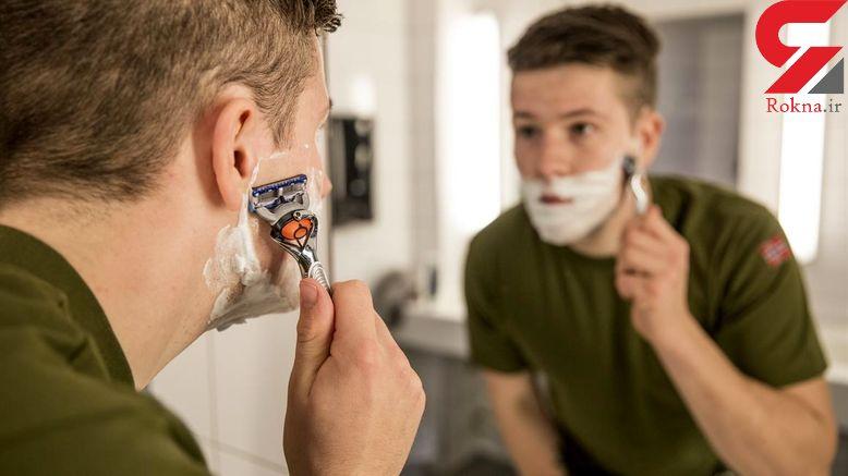 راهکارهای اصلاح صورت برای مردانی که پوست حساس دارند