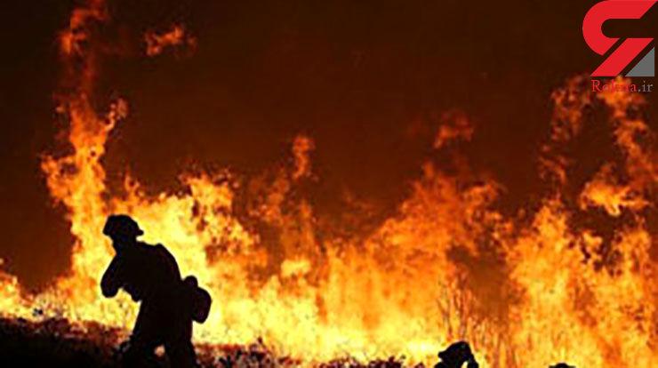 آتشسوزی در یک هتل در شمال شرق مسکو