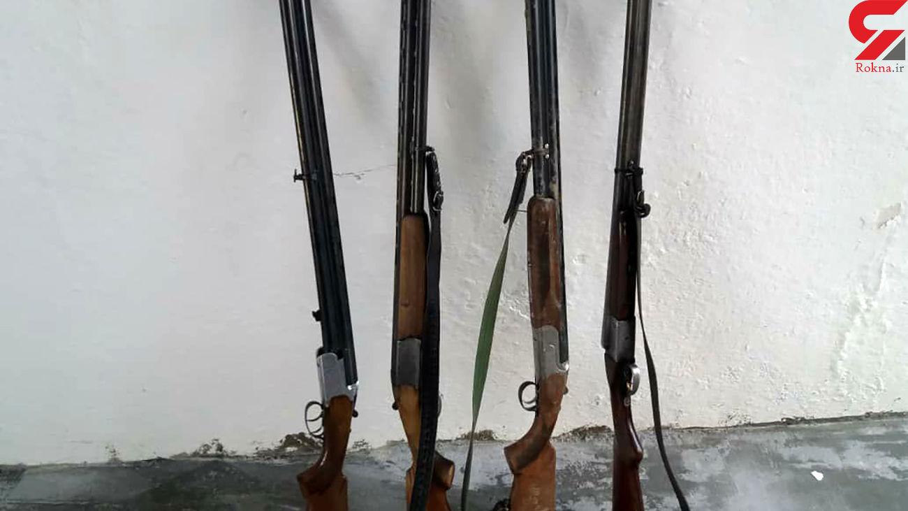 دستگیری 24 شکارچی غیرمجاز در مازندران