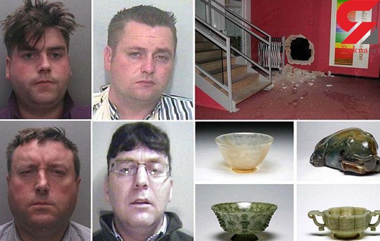 بزرگترین سرقت آثار عتیقه در انگلیس