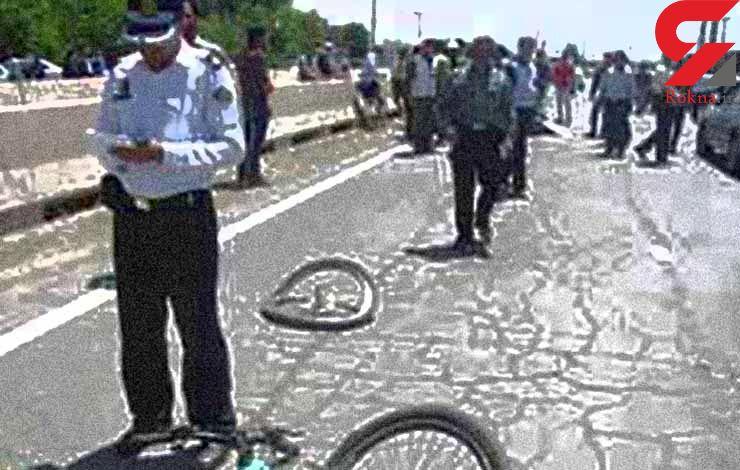 عدم رعایت حق تقدم مرگ راکب دوچرخ سوار را رقم زد