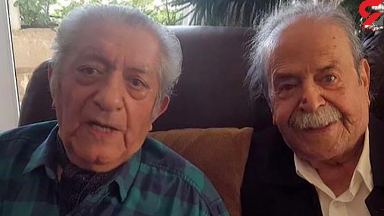 مکالمه تلفنی دیده نشده از محمد علی کشاورز و عزت الله انتظامی + فیلم