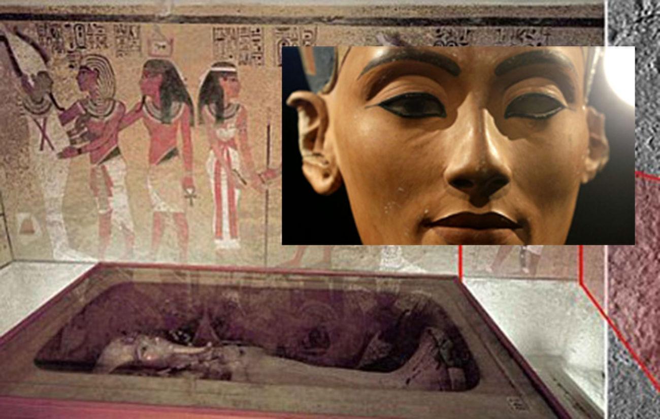 راز اتاق های مخفی فرعون مصر + فیلم و عکس