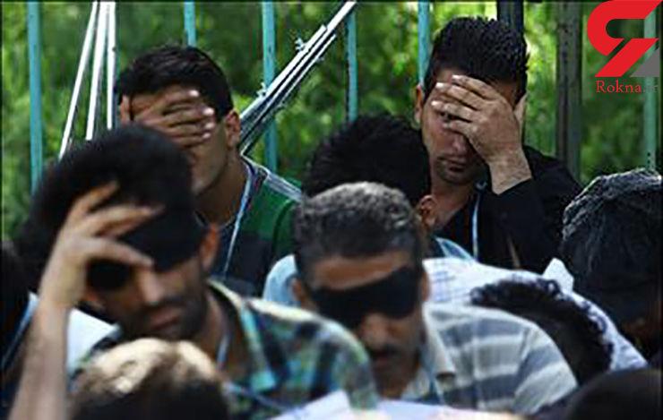 دستگیری اوباش شب گذشته درنارمک