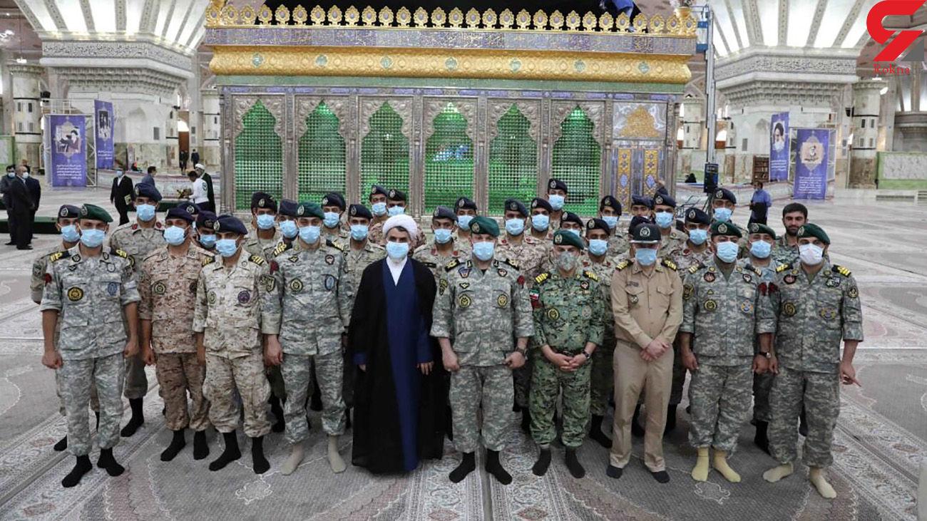 تجدید میثاق تکاوران نیروی دریایی ارتش با آرمانهای امام راحل(ره)