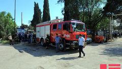 انفجار مرگبار سیلندر گاز مایع در باکو + عکس