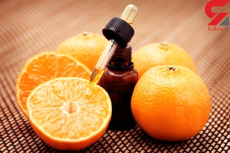 لاغری فوری با روغن پرتقال