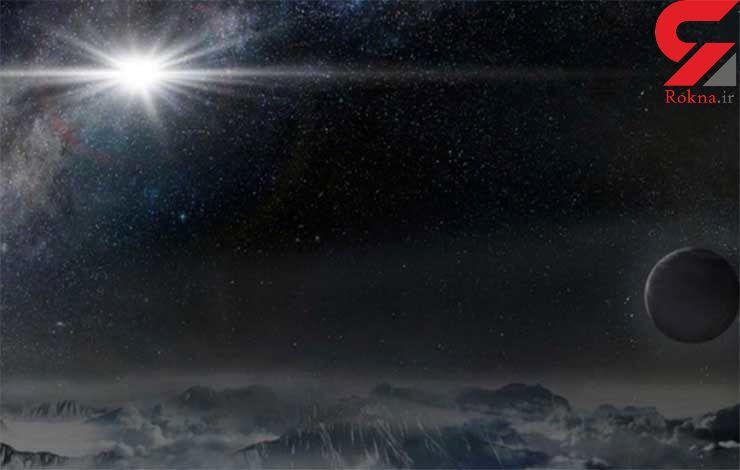 تصویرابرنواختر در کهکشان دور