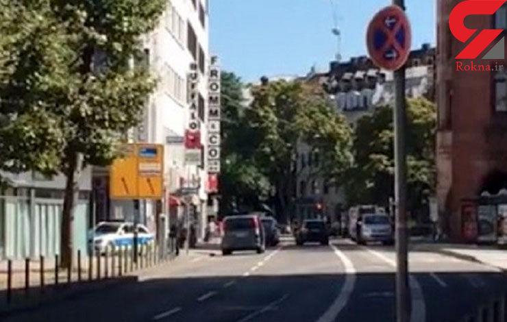 حمله فردی مسلح به رستورانی در آلمان