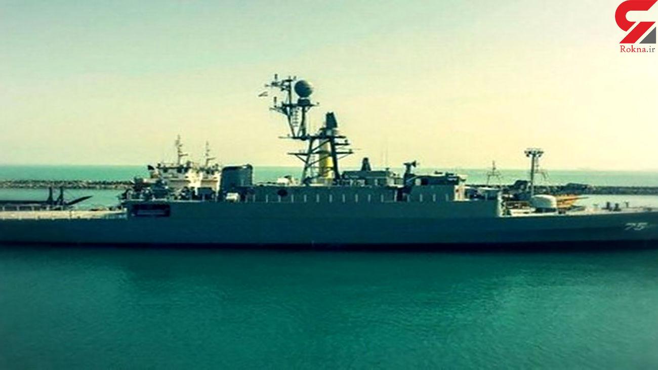 جزئیات آرایش تسلیحاتی ناوشکن دنا در خلیج فارس