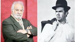 اعتراض به گزارشگر صدا و سیما در مراسم تشییع ناصر ملک مطیعی + فیلم