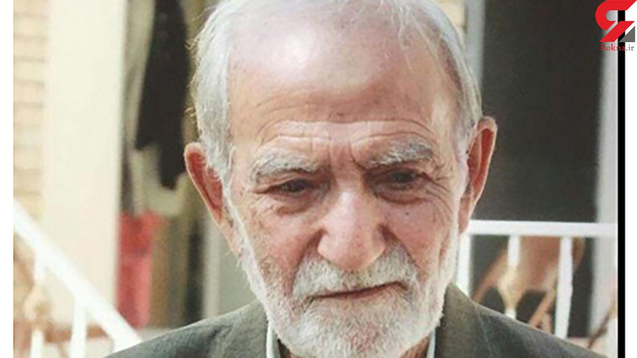 مرگ استاد بزرگوار علی شریف کاشانی + عکس