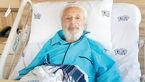 جمشید مشایخی در بیمارستان بستری شد + عکس