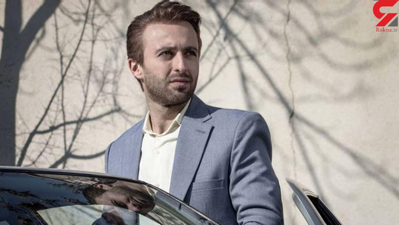 عاشقانه حسام محمودی بازیگر سریال باخانمان با همسرش
