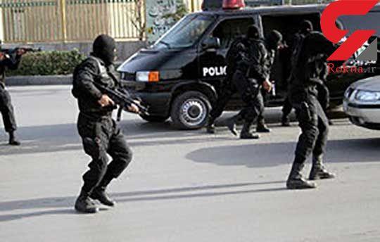 درگیری مسلحانه با قاچاقچیان در سراوان