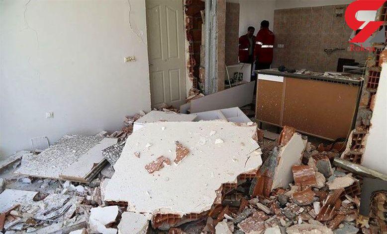 انفجار گاز در یک ساختمان مسکونی در رجایی شهر / آتش سوزی مهار شد