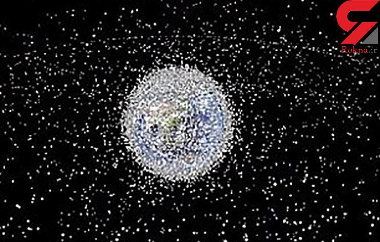 20 هزار زباله فضایی در مدار زمین