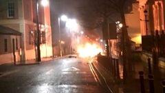 انفجار مشکوک به بمب گذاری خودرو در ایرلند