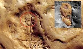 ارتباط تصویر چهره حکاکی شده یک زن بر سطح مریخ با ایران چیست؟ + عکس