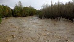 فیلم | آخرین وضعیت رودخانه کرج در پی بارش های اخیر