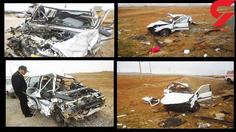 مرگ های تلخ در تصادفات  مرگبار  استان مرکزی+عکس