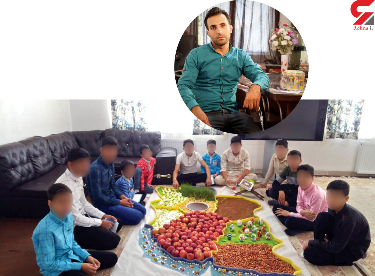 این پسر 21 ساله مشهدی 40 فرزند خوانده دارد + عکس
