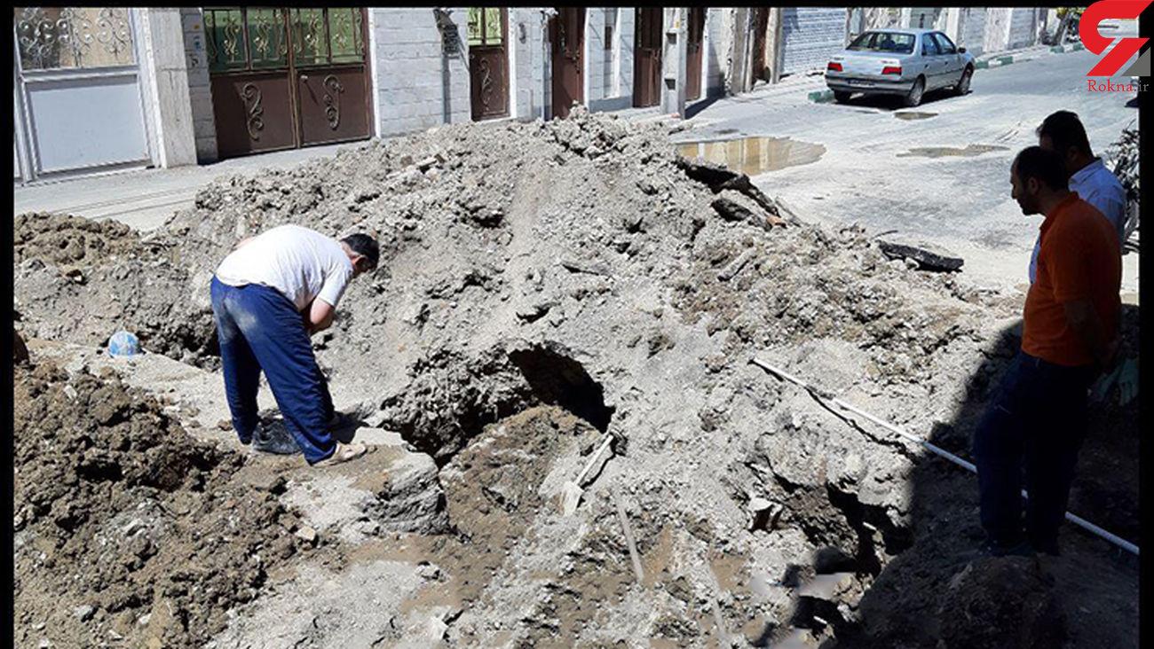 احتمال قطع گاز در بافق و بهاباد / لوله اصلی گاز در بافق ترکید