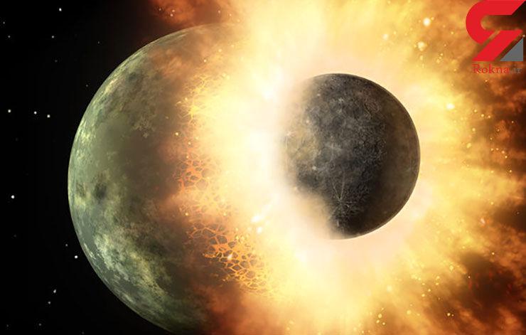 تولد زمین با برخورد بزرگ در کهکشان
