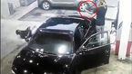 فیلم لحظه درگیری وحشتناک در پمپ بنزین +تصاویر