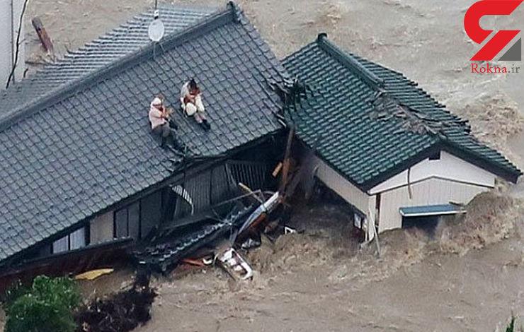 4 کشته و 2 مفقود در بارش های شدید و سیل در ژاپن