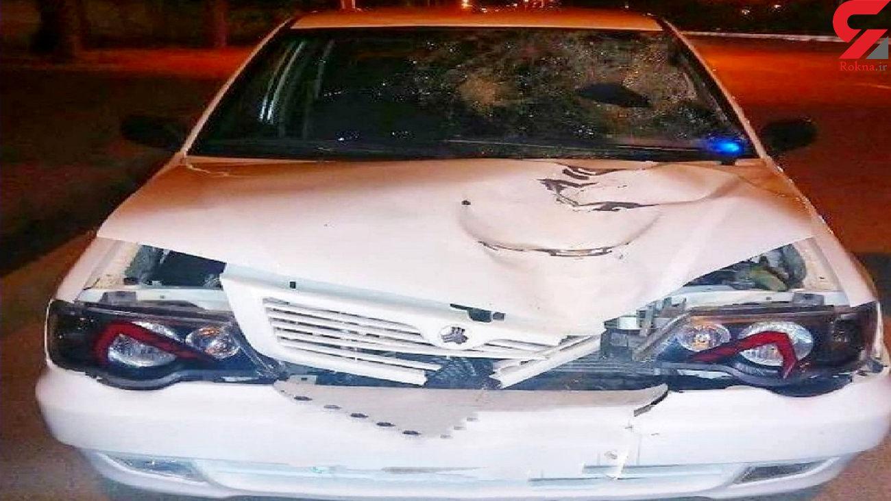 مرگ الهه 16 ساله در لایو اینستاگرامی راننده پراید / در طبس رخ داد + عکس