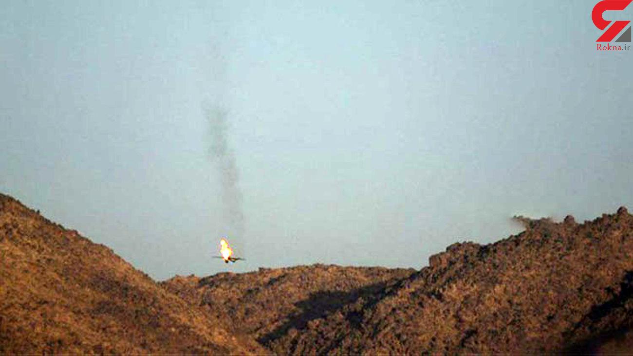 ساقط شدن پهپاد جاسوسی ائتلاف سعودی در «جازان»