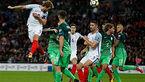 انگلیس 1-0 اسلوونی؛ صعود سه شیرها به جام جهانی