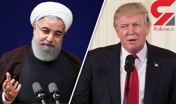 روحانی رییس جمهور امریکا را به مبارزه طلبید !