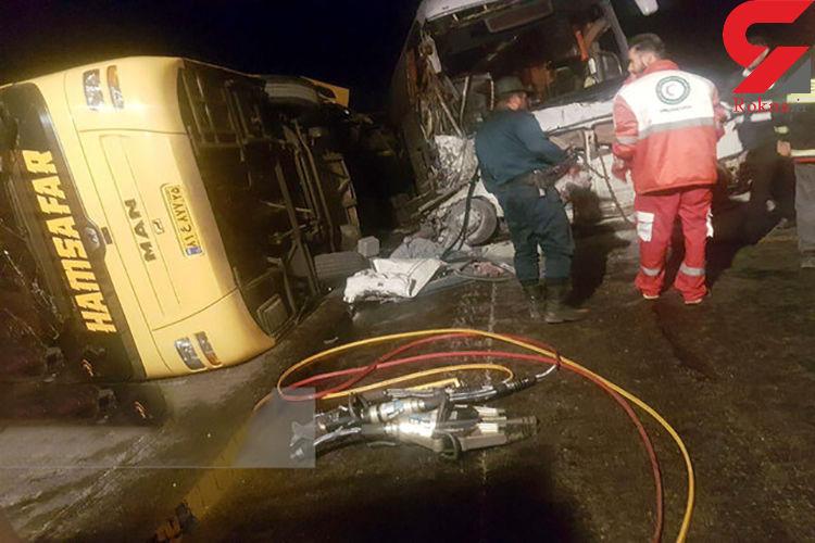 21 مصدوم در تصادفات جاده ای اردبیل به تهران