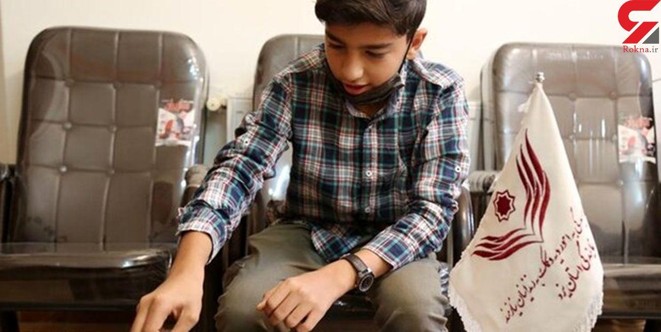 اقدام خدا پسندانه یک نوجوان ۱۳ ساله یزدی + عکس